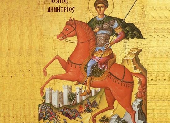 Το κόκκινο άλογο του Αγ. Δημητρίου!