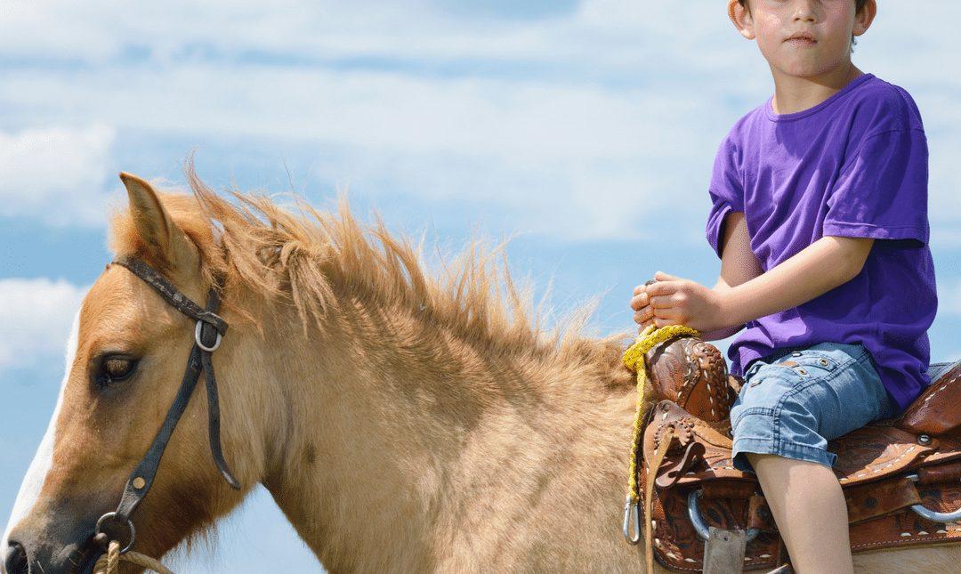 Νέα μελέτη σε παιδία που χορηγείται ιπποθεραπεία και θεραπευτική ιππασία