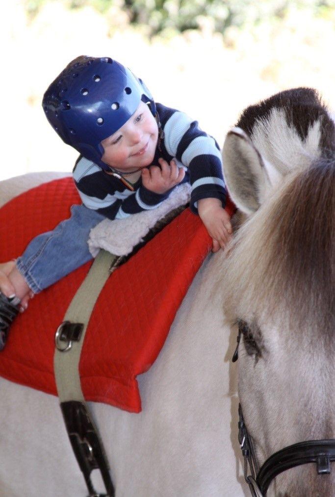 Η επιρροή της ιπποθεραπείας στα παιδιά με νοητική αναπηρία